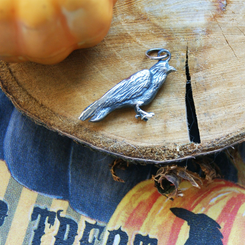 Wisiorek kruk - The Crow