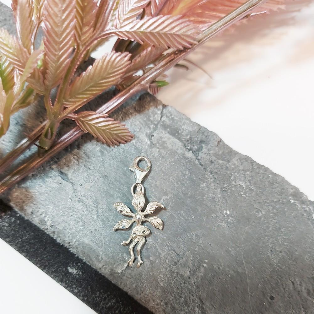 Silver Mandrake / Alruna charms 2CM