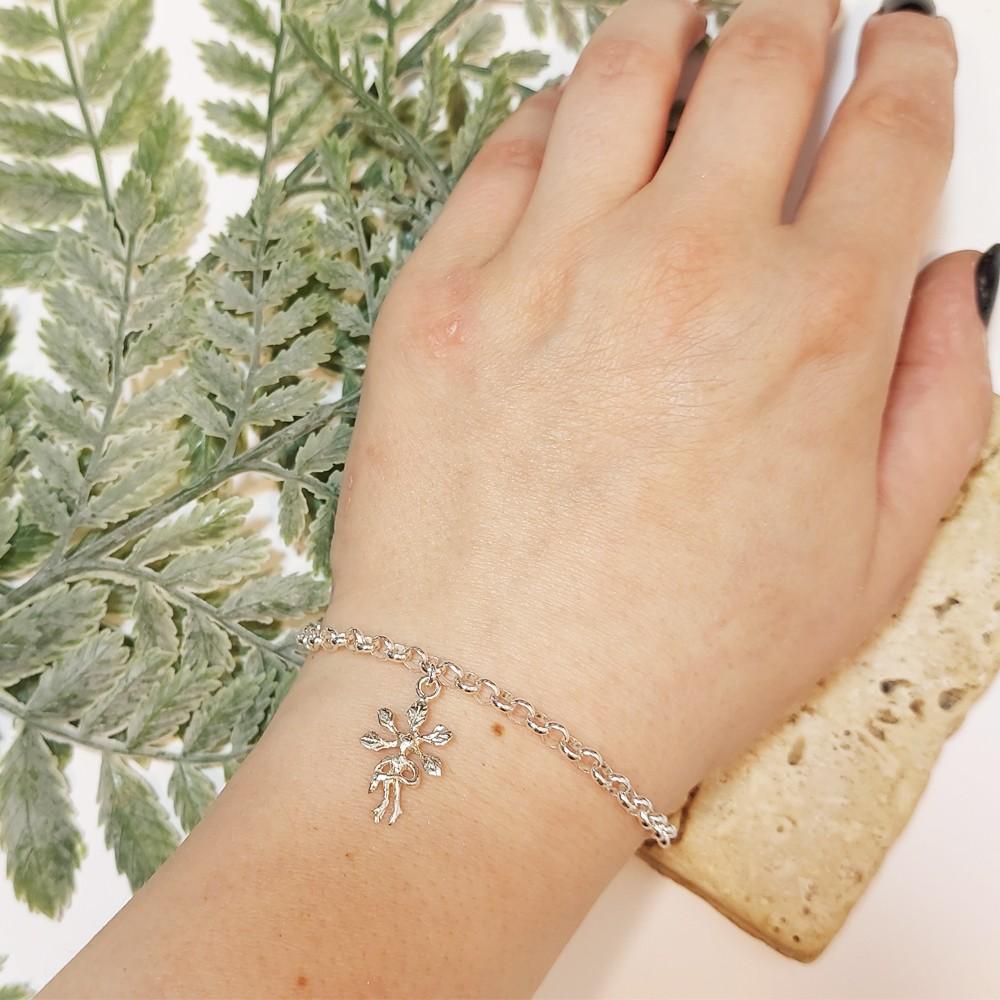 Silver bracelet  Mandrake / Alrauna