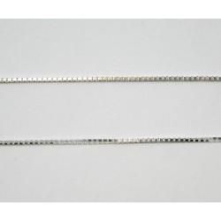 Łańcuszek kostka 1mm