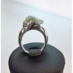 Pierścionek kolekcja Naturals - kamień Jadeit